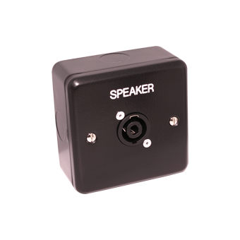 Speaker Outlet facility panel