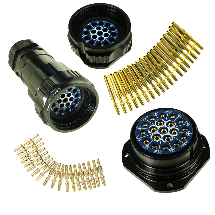 Tourmate 19 pin connectors